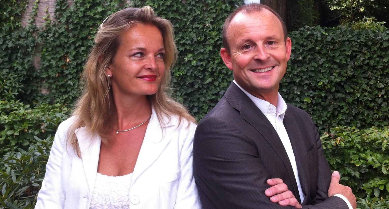 Foto Patrick & Mildred samenwerking website